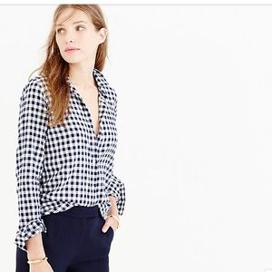J.Crew Classic Fit Button Down Shirt Gingham